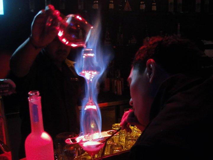 Flaming-lamborghini