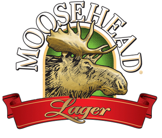 Moosehead Lager Arched Logo 4col