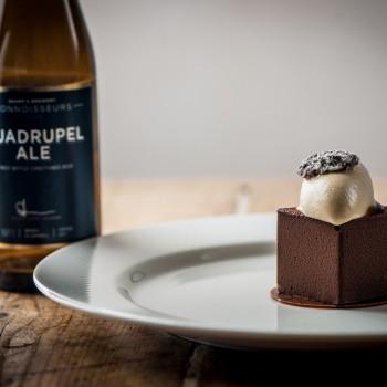 Quadrupel-Ale-and-chocolate-cake-with-salt-caramel-ice-cream-350x350
